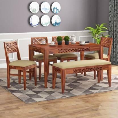 Kendalwood Furniture Solid Wood 6, Cream Colored Dining Room Furniture